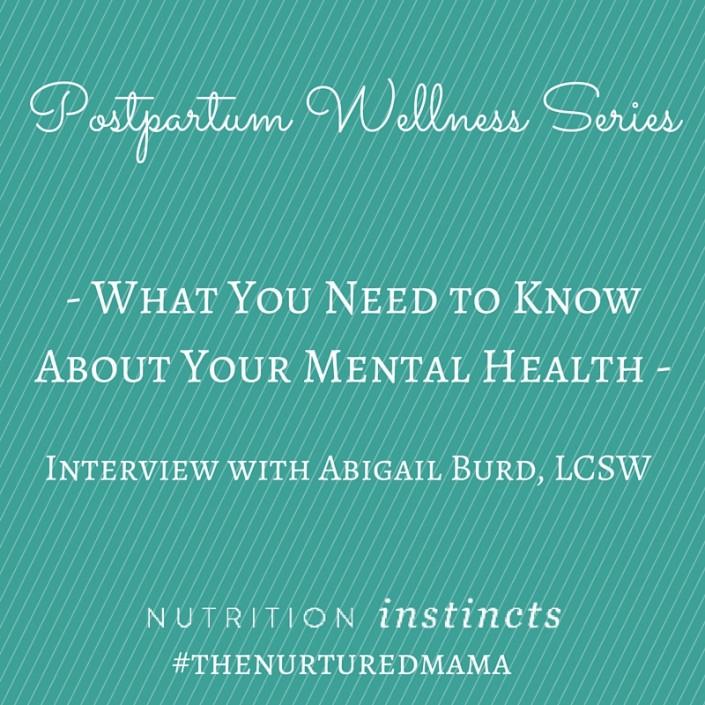 postpartum mental health interview