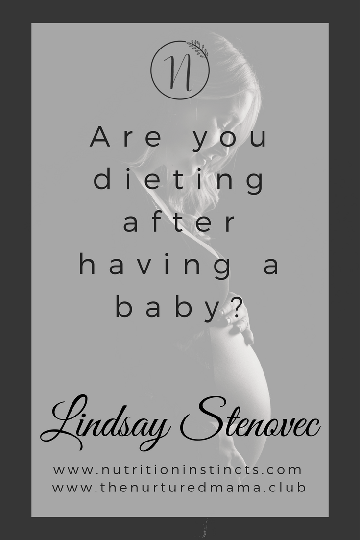 Dieting After Baby