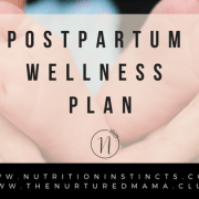 Post partum Wellness Plan
