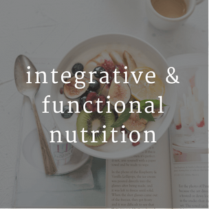 Button for integrative and functional nutrition services